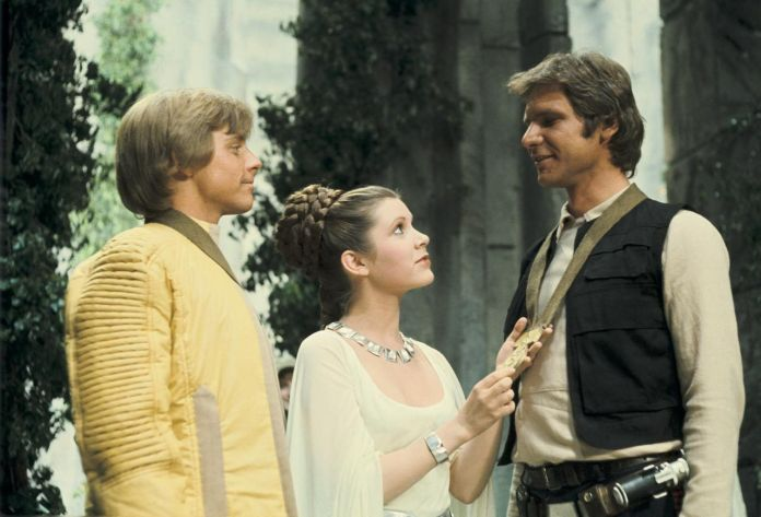 Harrison Ford y Carrie Fisher fueron pareja - Star Wars