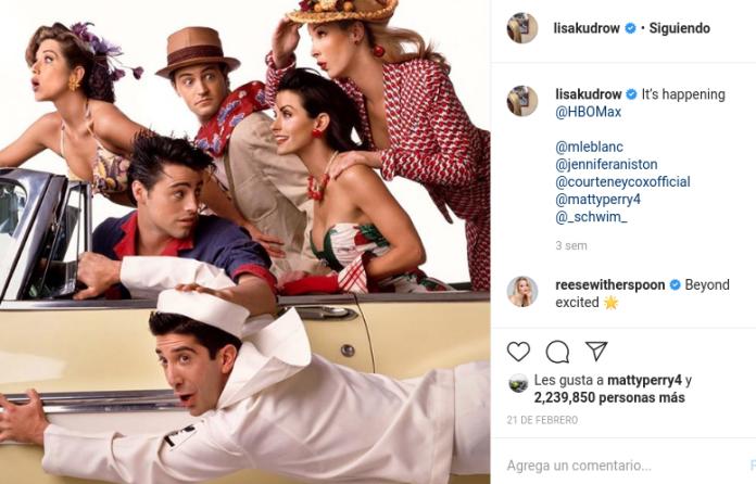 Los actores de Friends luchan contra el Coronavirus