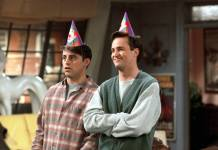 Matthew Perry en Cameo - Chandler y Joey en Friends
