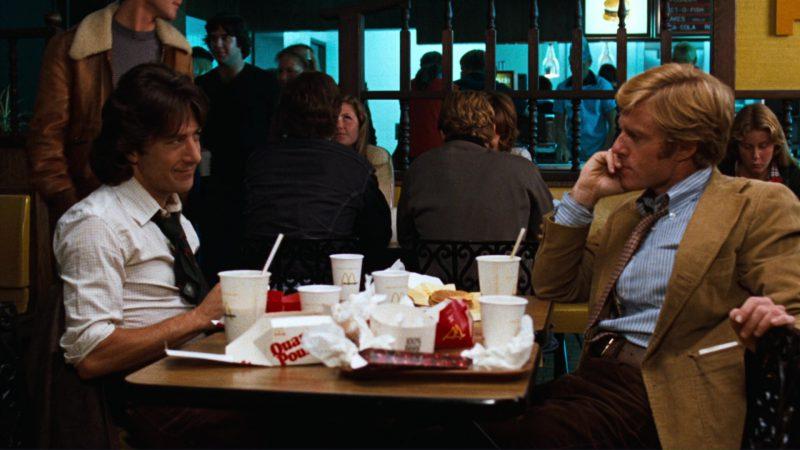 McDonalds & Movies Todos los hombres del presidente