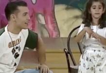 Alba Flores y Jesús Vázquez en Hablando se entiende la basca