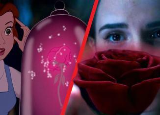 La bella y la bestia (2017) Vs La bella y la bestia (1991)