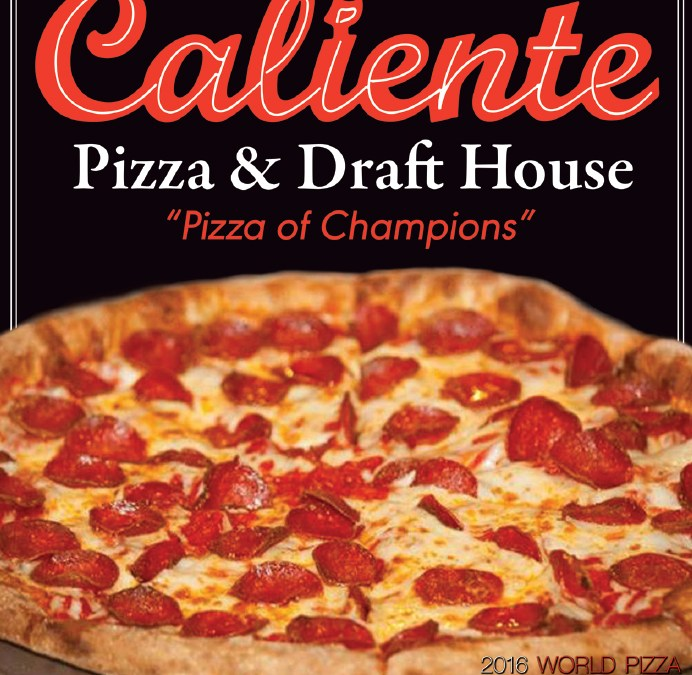 Caliente Pizza takes trio of prizes at worldwide pizza event