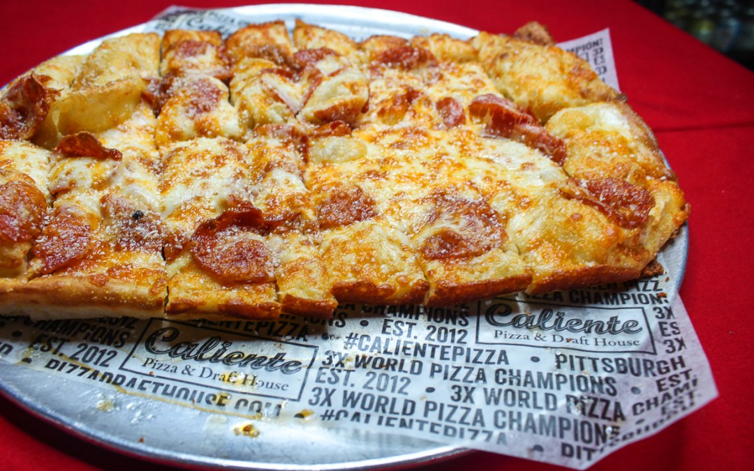 Pepperoni Cheesy Bread