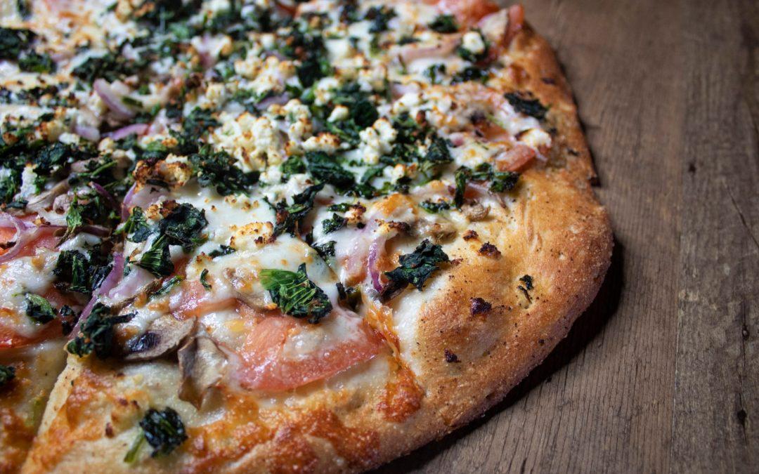 Betty White's Garden Pizza