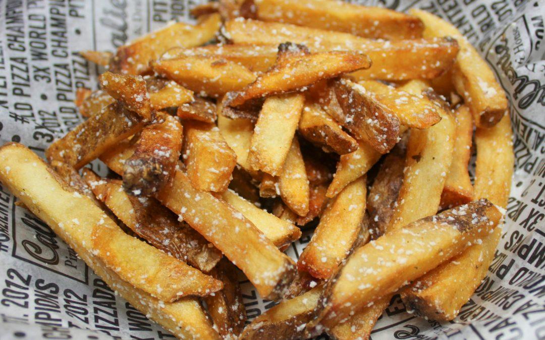 Garlic Parm Fries