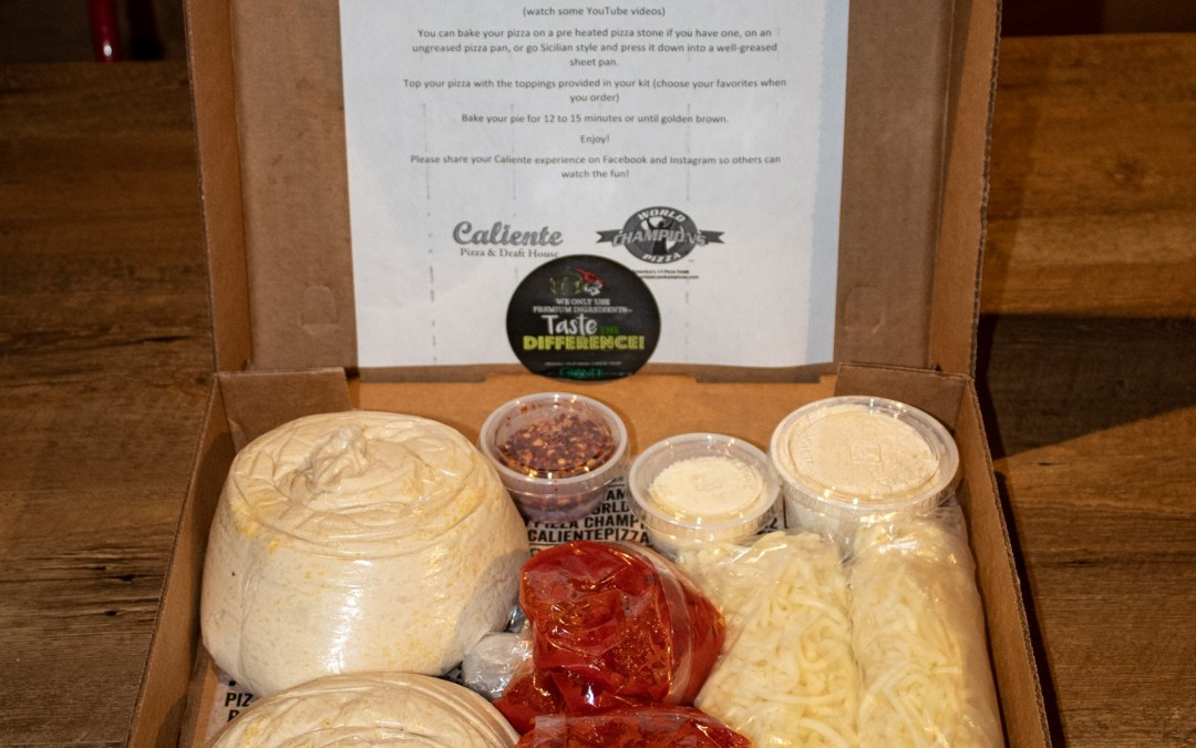 Caliente Pizza Kit