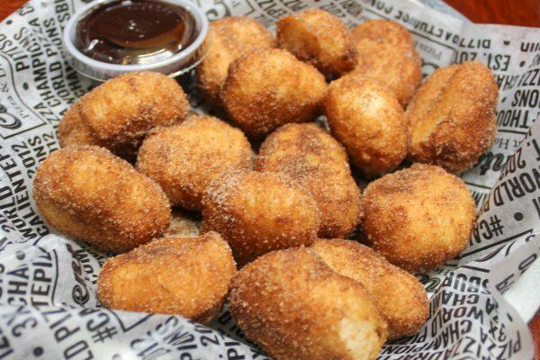 Cinnamon Donut Balls