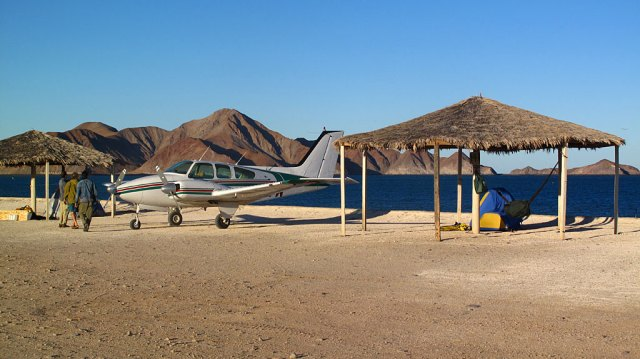1. Fly to Gonzaga Bay