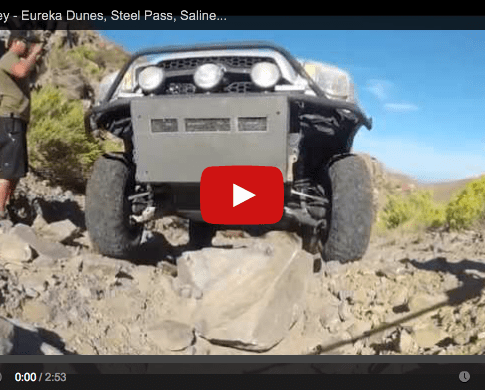 Video: Death Valley, Eureka Dunes, Steel Pass, Saline Valley Rd.