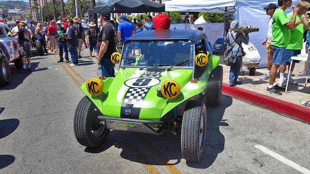 Jon Steinhilber and Joe Lowery drove their 1965 Meyers Manx in the Pioneer Era Class (1967 - 1975).