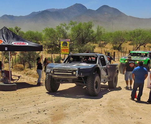 COPS Racing at the 50th Mexican 1000
