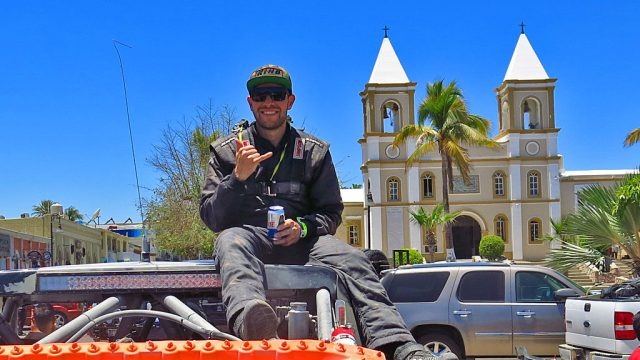 Josh Valco handled co-driver duties in the #55 for the entire 1,264.10 miles of the Mexican 1000.