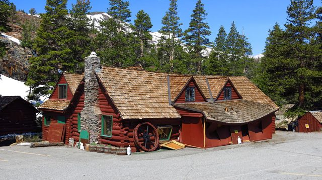 And speaking of snow damage, the Tioga Pass Resort is also not opening for the season. Many cabins near the creek were still flooded.