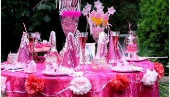 Pink Sparkle Princess Birthday Party