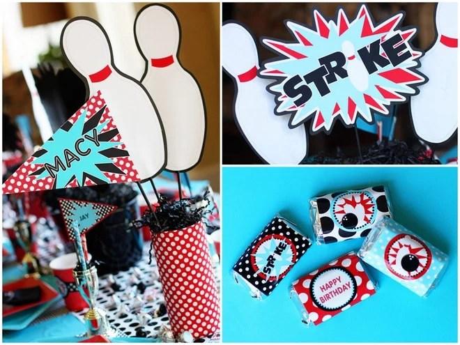 Smart Idea Bowling Party Decoration Ideas