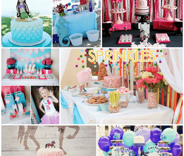 Top 10 Girls Birthday Party Themes On Pizzazzerie Com Party Birthday