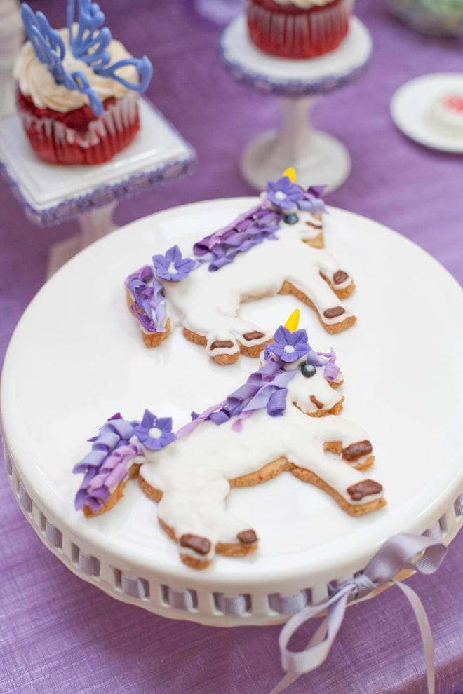 Cute Amp Festive Fairy Unicorn Birthday Party Pizzazzerie