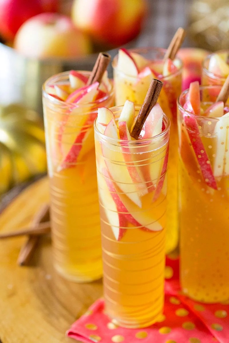 apple cider sangria picture