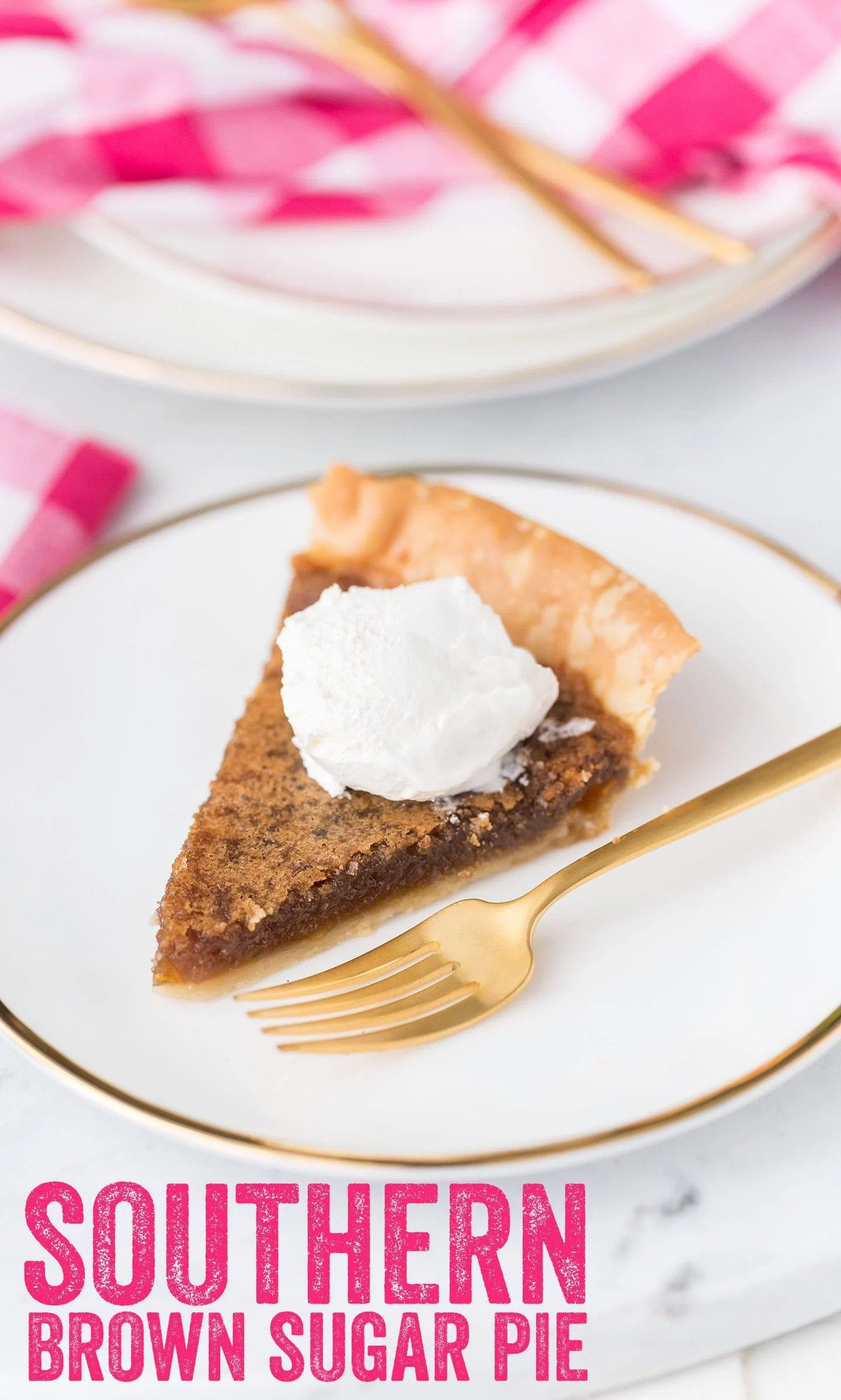 Famous Southern Brown Sugar Pie