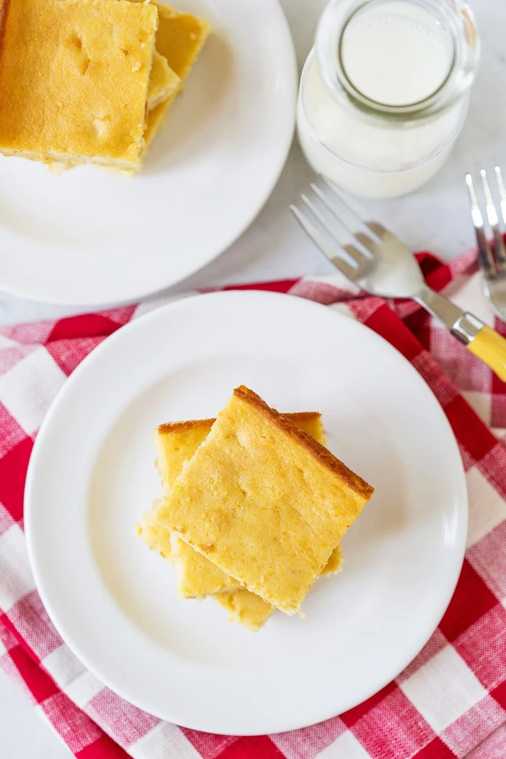 Cornbread with Creamed Corn