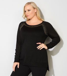 glamour plus size sweaters, dressy plus size sweaters, beautiful elegant plus size sweaters