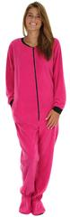 Women's onesie pajama, footed pajamas for women, pajamas for her,