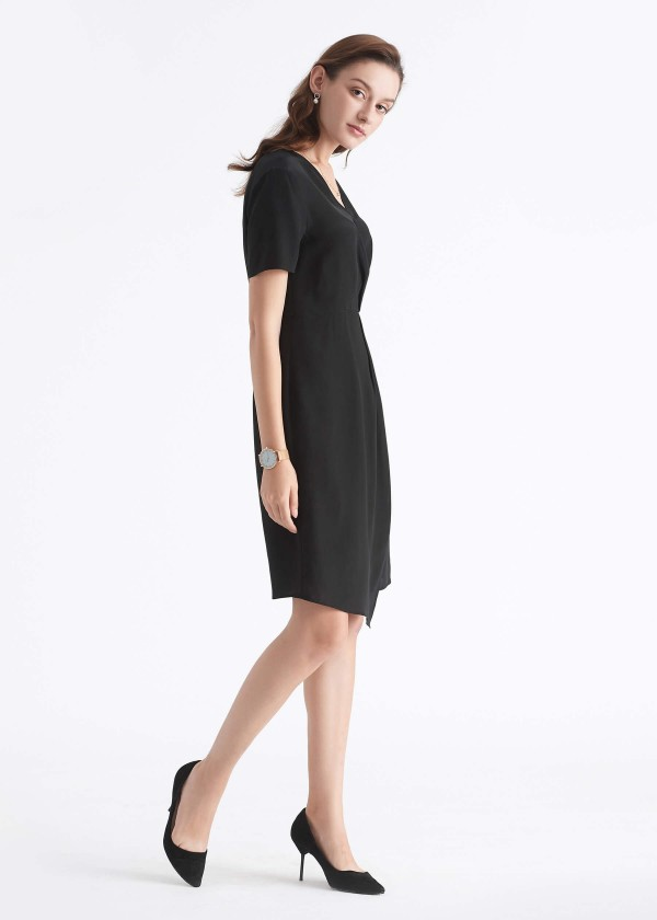 little black dress, lilysilk business dress, perfect little black dress