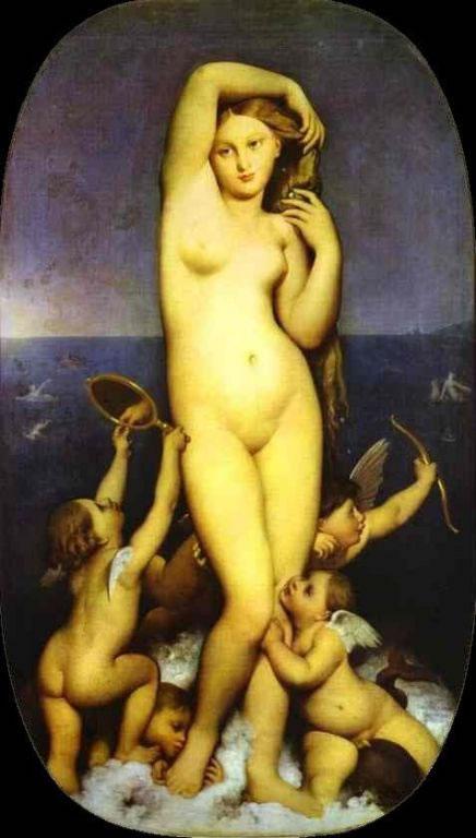 Ingres - Venus Anadyomene (1848)_jpg