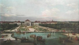 Nymphenburg - Canaletto