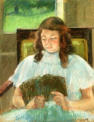 franc3a7oise-in-a-square-backed-chair-reading-young-girl-reading-in-a-blue-dress