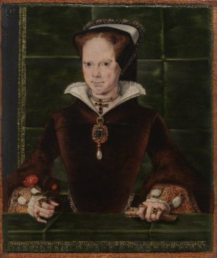 NPG 4861; Queen Mary I by Hans Eworth