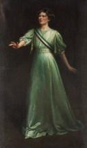 NPG 6921; Dame Christabel Pankhurst by Ethel Wright