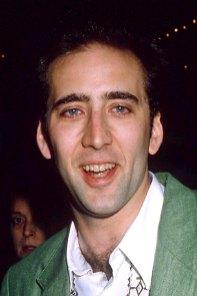 Nicolas Cage leit svolítið út eins og mannæta á tímabili...með gular og litlar og skrítnar tennur...
