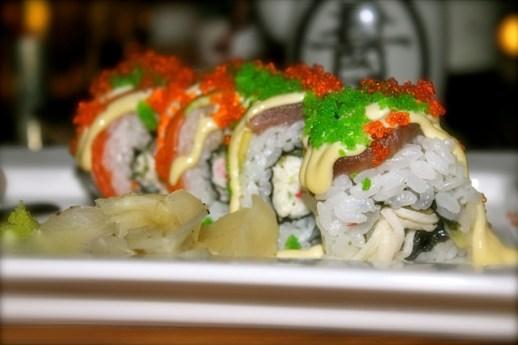 Og sushi ó sushi!