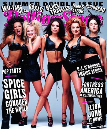 Á forsíðu Rolling Stone tímaritsins