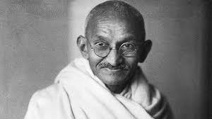 Mahatma Gandhi var svo sannarlega með sterka réttlætiskennd