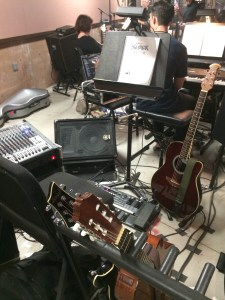 Shrek the Musical Guitar Rig