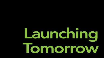 Launching tomorrow.