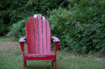 red chair one