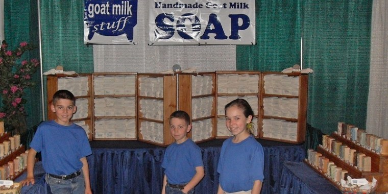 Early Days of Goat Milk Stuff