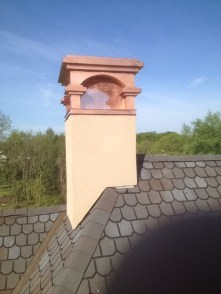 Red Copper - Sal Chimney Cap