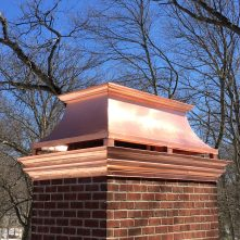 Red Copper - Kivo Chimney Cap
