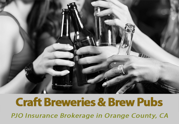 Craft Breweries & Brew Pubs Business Insurance in OC California