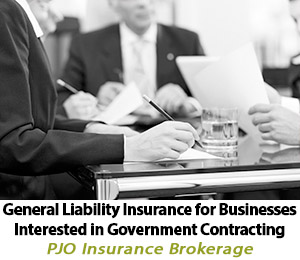 General Liability Insurance for Businesses Interested in Government Contracting