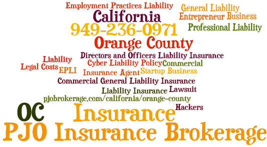 Orange County Start Up General Liability Business Insurance in Califronia
