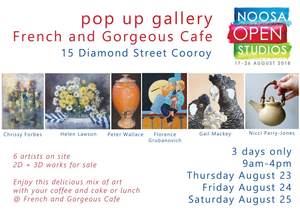NoosaOpenStudio flyer