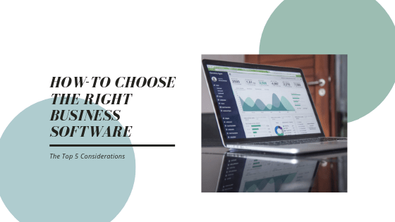 Top 5 Tips for Choosing the Right Business Accounting Software