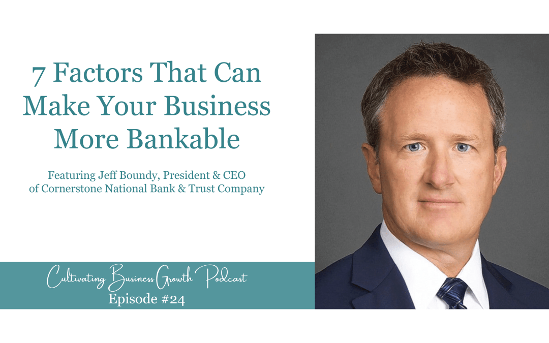 #24: 7 Factors That Can Make Your Business More Bankable