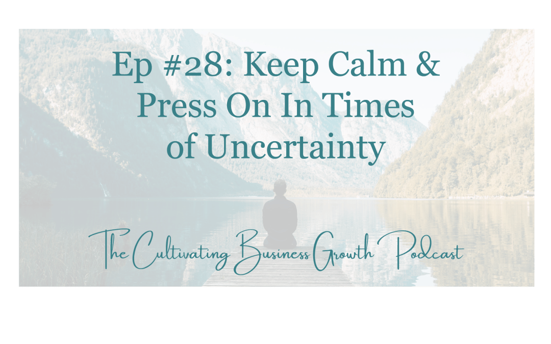 #28: Keep Calm & Carry On During Times of Uncertainty
